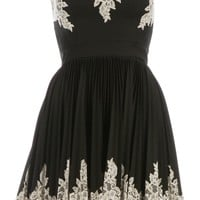 Robert Rodriguez Strapless Lace Trim Dress - L'eclaireur