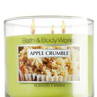 Apple Crumble 14.5 oz. 3-Wick Candle   - Slatkin & Co. - Bath & Body Works