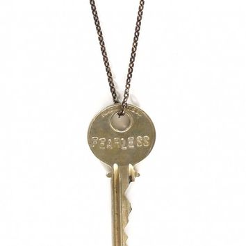 fearless key necklace by the giving from kitson la my