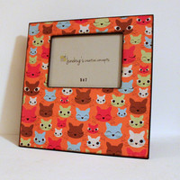 Large 12x12 Photo Frame 5x7 Cat Lovers