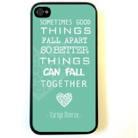 Amazon.com: iPhone 4 Case Silicone Case Protective iPhone 4/4s Case Marilyn Monroe Quote Love Turquoise: Cell Phones & Accessories