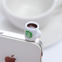 Cup of Coffee Smart Phone Plugy