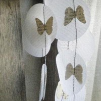 Petit Papillon Butterflies in French Garland by MaisyandAlice