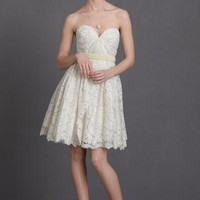 Lustrous Lace Dress in SHOP The Bride Wedding Dresses at BHLDN
