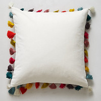 Firenze Velvet Tassel Pillow