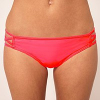 ASOS | ASOS Lattice side Hipster Bikini Pant at ASOS