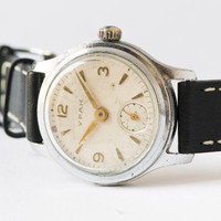 Unisex wristwatch URAN - very rare mechanical watch - 50s-60s watch Soviet