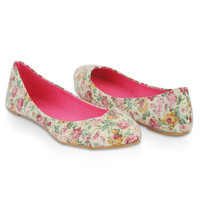 Sequined Floral Flats   FOREVER21 - 2000010115