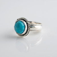 jewels2luv — Rose Cut Turquoise Ring