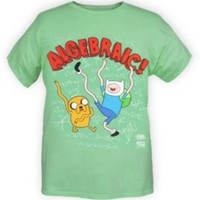 Adventure Time Algebraic Shirt