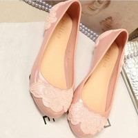 Soft Plastic Flat Shoes for Women