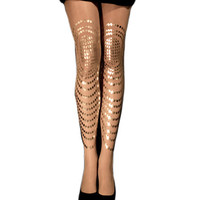 Gal Stern Goldfish Tights :: Leggings and Tights :: Womens :: Five & Diamond