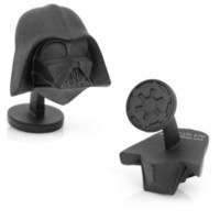 Amazon.com: Cufflinks Inc. Star Wars 3-D Darth Vader Head Cufflinks (SW-DVH-3D): Jewelry