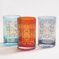 Marrakech Tumblers, Set of 3 | Drinkware| Kitchen & Dining | World Market