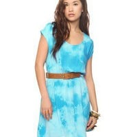 Crochet Inset Tie-Dye Dress | FOREVER21 - 2011409897
