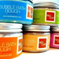 Red Leaf Bubble Bath Dough by ShopRedLeaf on Etsy