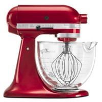 KitchenAid KSM155GBCA Artisan Design Series 5-Quart Mixer, Candy Apple