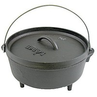 Lodge Logic 4-Quart Cast-Iron Camp Dutch Oven