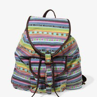 Southwest Patterned Backpack | FOREVER 21 - 1044955834