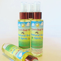 Don't Bug Me Natural Bug Spray - safe outdoor insect repellent for the family (4.75 oz value size)