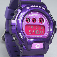 Karmaloop.com - Global Concrete Culture - The 6900 Watch in Metallic Purple by G-SHOCK