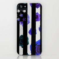 Floral grunge part II iPhone & iPod Case by Taylor Whitehurst