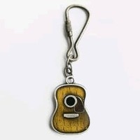 Amazon.com: Acoustic Guitar Key Ring: Clothing