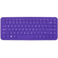 Keyboard Cover Skin Protector for Hp Pavilion G4, g6, envy 14-1007tx, hp 2000, dv4-3000 Series, presario Cq43, 430, 431 CQ57, CQ58 Us Layout Purple
