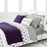 CLOSEOUT! Lacoste Bedding, Sevan Comforter and Duvet Cover Sets - Bedding Collections - Bed & Bath - Macy's