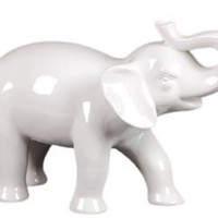 Amazon.com: Urban Trends Collection UTC70534 Ceramic Elephant Figurine: Home & Kitchen