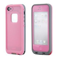 Amazon.com: GEARONIC Waterproof Shockproof Full Body Skin Case Cover Pouch for iPhone 5, Multi Purpose Protective Skin for water, shock, snow, dirt - Pink: Cell Phones & Accessories