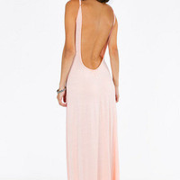Estelle Low Back Maxi Dress $30
