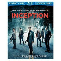 Inception (Three-Disc Blu-ray/DVD Combo + Digital Copy)