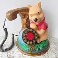 Hearing Aid Compatible Disney Telephone Winnie the Pooh Phone