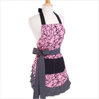 Women&#x27;s Original Chic Pink Flirty Apron