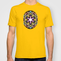Digital Mandala T-shirt by Vargamari
