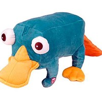 Disney's Phineas and Ferb 14 Inch Talking Plush Figure Perry
