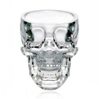 ZLB Skull-shaped Crystal Glass Wine Cup Color Transparent