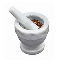 Fox Run 4-Inch Marble Mortar and Pestle