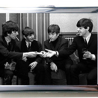 The Beatles Cigarette Case Wallet Card Holder by ArtTasty on Etsy