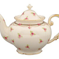 Gracie China Pink Petite Fleur Porcelain 3-Cup Tea Pot