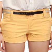 Cuffed Shorts w/ Belt | FOREVER21 - 2000019902