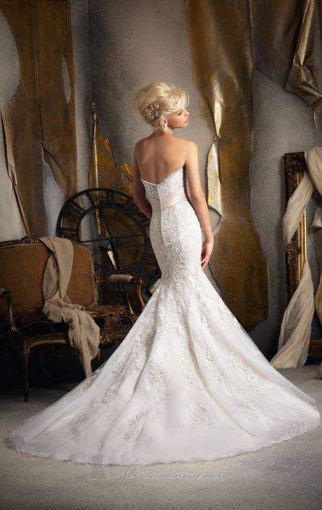 Bridal by mori lee 1903 dress from on wanelo for Wedding dress brands under 2000