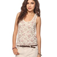 Floral Lace Tank Top | FOREVER21 - 2015035825