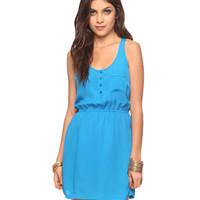 Racerback Woven Dress | FOREVER21 - 2015036395
