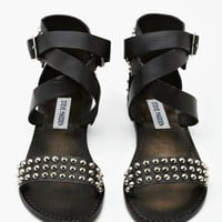 Buddies Studded Sandal - Black