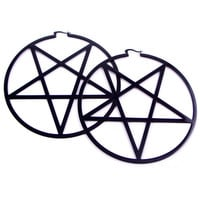 Pentagram Earrings [B] | KILLSTAR