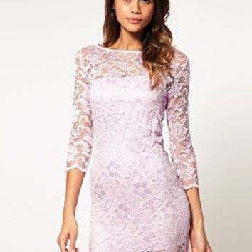 ASOS | ASOS Lace Body-Conscious Dress at ASOS