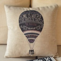 ZLP Up Cotton and Linen Pillow Color Original