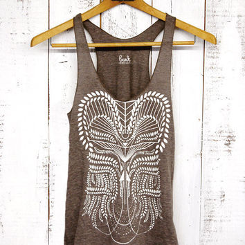Etsy - Eden Tank - womens tri-blend tank - by Bark Decor